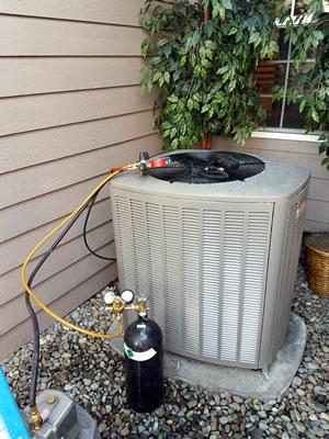 Heat pump repair in Seattle.